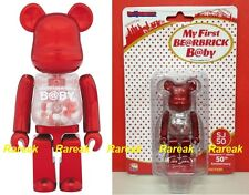 Medicom 2016 Be@rbrick My First Baby 100% Red SJ50 Singapore / Japan Bearbrick