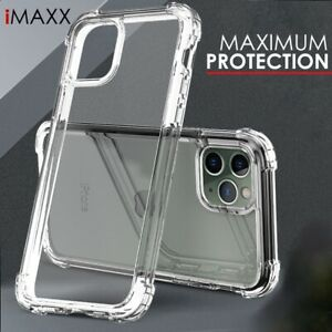 Case For iPhone XR 11 12 Pro Max X XS 7 8 6 CLEAR Gel Shockproof Silicone Cover