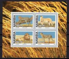 WWF Namibia Wild Animals Cats sheet S/S clean MNH