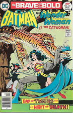 Brave and the Bold Comic Book #131 DC Batman and Wonder Woman 1976 VERY FINE+