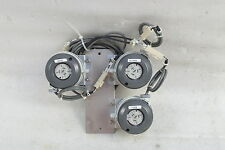 HUBA CONTROL TYPE 604 LOT OF 3 WITH INSTALLATION PLATE