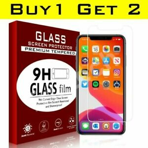 Details about  For iPhone 11, 12 Pro Max iPhone XR X XS SE 2021 Gorilla Glass