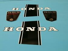 HONDA CT70 TRAIL70 1969 FRAME SIDE DECAL GRAPHIC SET (#H17)