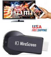 Wireless Wifi HDMI Video Adapter for iPhone XS XR 8 7 6 Plus Android Phone to TV