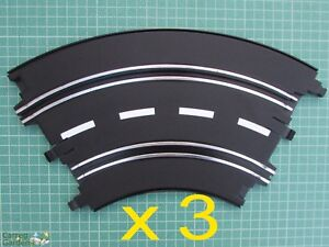 Artin 1:32 Slot Car Road Racing Track Curves x 3 Replace Upgrade or Extend