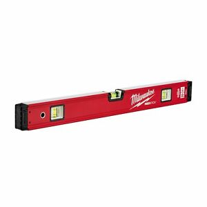 Milwaukee 4932459062 932459062 Redstick Backbone Level 60cm, Red/Black
