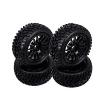 4pcs Wheel Rim Tire 14 Spoke For RC 1/10 Rally On Road Car HSP HPI US Shipping
