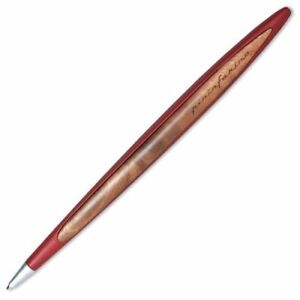 Napkin Forever Pininfarina Cambiano Ballpoint Pen Desk Set, Red, Brand New