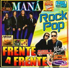 Mp3. 100 canciones Frente a Frente lo mejor de Rock Pop en Español cd mp3 Mexico