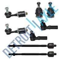 New Front 8pc Kit Both Lower Ball Joint Sway Bar Tie Rod for Nissan Maxima