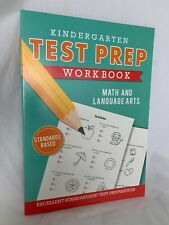 KINDERGARTEN TEST PREP WORKBOOK MATH/LANGUAGE ARTS NEWEST EDITION © 2020 NEW!!