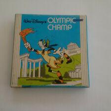 Walt Disney's campeón olímpico - 50 ft negro y blanco cine mudo