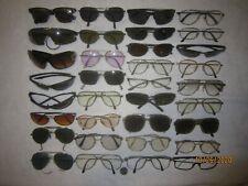 Mix Lot of 34 Maui-bolle-Taiwan-Ao-Carr era-Izod-more Sun/Eyeglasses Aviators Big