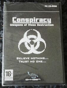 CONSPIRACY WEAPONS OF MASS DESTRUCTION PC CD-ROM SHOOTER GAME brand new & sealed