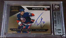 2010-11 Luxury Suite Gold TRAVIS HAMONIC NY Islanders BGS 8.5 Auto 10 Pop 1/1