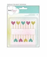 American Crafts Embellishments Dear Lizzy ~ Polka-Dot-Party TOOTHPICKS ~366159