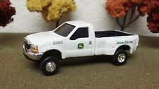 FORD, JOHN DEERE, F350 SUPER DUTY, DUALLY, ERTL, PICK UP TRUCK
