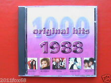 pat benatar poison mel & kim wendy & lisa 1000 original hits 1988 Raro CD 2001 v