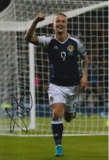 Scotland Hand Signed Leigh Griffiths 12X8 Photo.