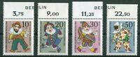 Berlin 373 - 376 sauber postfrisch mit Zudruck Oberrand 1970 MNH