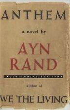 Anthem by Ayn Rand (2005, HardcoverDJ~Excellent shape.)