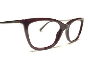 Coach HC6124 5509 Women's Oxblood Cat's Eye Rx Designer Eyeglasses Frames 53/17