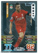 2015 / 2016 EPL Match Attax Bronze Limited Edition (LE5) Jordan HENDERSON