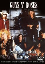 Guns n' Roses - Destructive Appetite - Interviews 2007     Brand new and sealed