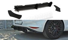 VW Golf 7 GTI Heckansatz Heck Diffusor Cup DTM Golf VII R-Line Heckschürze Flaps