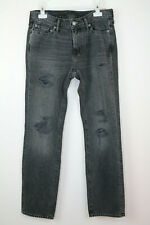 Abercrombie & Fitch Mens Straight Fit Jeans W30 L30