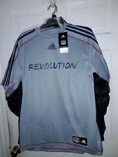 New England Revolution soccer Adidas Climalite Jersey Revs shirt MLS NEW Medium