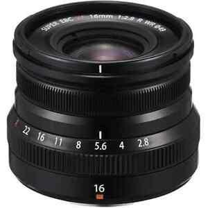 Fujifilm - XF 16mm f/2.8 R WR - Black