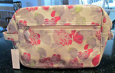 """CRABTREE & EVELYN POPPY PRINT COSMETIC BAG (75005), 9 1/2"""" W, 7 1/2"""" H, 3 1/2"""" D"""