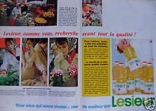 PUBLICITÉ 1967 HUILE LESIEUR POUR VOUS QUI SAVEZ CHOISIR - ADVERTISING