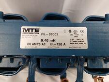 USED MTE RL-08002 3 Phase Reactor