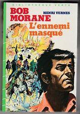 Bob MORANE L'ennemi masqué  Henri VERNES BV 1984