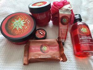The Body Shop Strawberry Bundle