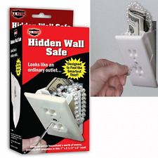 Hidden Wall Safe Security Electrical Outlet Keys Vault Secret Hide Valuables
