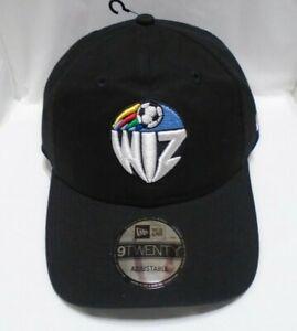 Kansas City Wiz Men's New Era 9TWENTY Adjustable Cap Hat Black