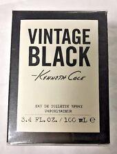 VINTAGE BLACK by Kenneth Cole 3.4 oz edt SPR FOR MEN Cologne