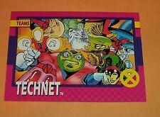 Technet # 80 - 1992 Marvel X-men Series 1 Base  Impel Trading Card