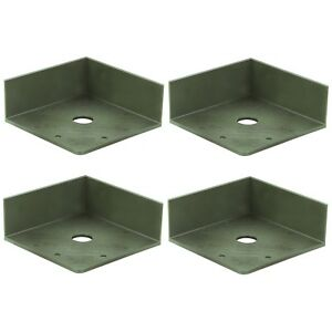 Grüne RICHTER / HR Antirutschwinkel 4 Anti Rutsch Ecken Winkel Kofferraumteiler