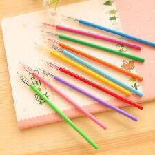 12pcs/set Fashion Novelty Cute Gel Ink Pen Refills Stationery School Supplies