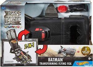 DC Justice League - Batman Transforming Flying Fox - Brand New