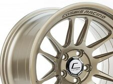 Cosmis Racing XT206R 18x9.5 +10 5x114.3 Full Bronze Non Staggered (Set of 4)