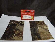 NEW ALLEN 2 SIGHT WINDOW 4 x 6 INCH PAD'S AP REALTREE FABRIC PEEL&STICK $3.99