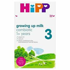 HiPP 3 Growing up Baby Milk Powder from 1 Year Onwards (Case of 4 x 600g boxes)