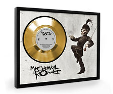 My Chemical Romance The Black Parade Framed Gold Disc Display Vinyl (C1)