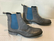 EOS WILLOW LEATHER BOOT; Womens 40; ZINCO GREY; AS NEW