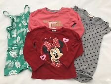 John Lewis Prochain Disney Minnie Mouse Filles Robe T-shirt Top Bundle 4-5 ans